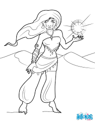 djinn coloring pages hellokids com