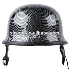 black friday motorcycle helmets motorcycle dot carbon fiber wwii german style motorcycle cruiser