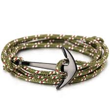 anchor jewelry bracelet images Lko hot alloy anchor bracelet multilayer rope bracelet for men jpg