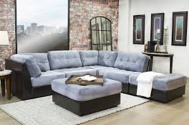 Mor Furniture Portland Oregon by Quantum Gray 6 Piece Sectional Mor Furniture For Less