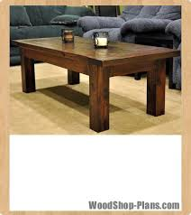 coffee table woodworking plans projects tool time pinterest