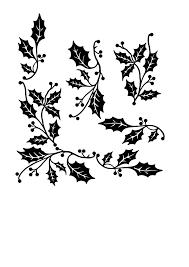 holly border clip art at clker com vector clip art online