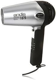 black n gold hair dryer amazon com andis 1875 watt fold n go ionic hair dryer silver