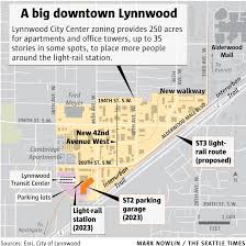 Light Rail Stops Baltimore Lynnwood Eager For Growth Changes That Light Rail Will Bring