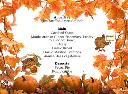 typical thanksgiving menu turkey menu ideas our best cooking propositions and recepts