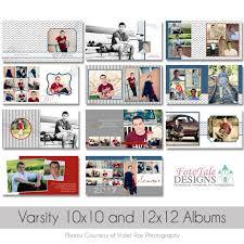 12 X 12 Photo Album Varsity 10x10 And 12x12 Senior Photo Album Custom Album
