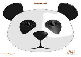 panda mask template contegri com
