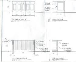 kitchen furniture cabinet kitchen measurements standard example