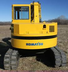 komatsu pc75uu mini excavator item g4448 sold december