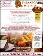 catering menus caterer