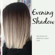 brown and blonde ombre with a line hair cut i found this on facebook don t know who to reference but i love