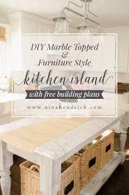 furniture style kitchen island 966 best kitchens images on home depot kitchen