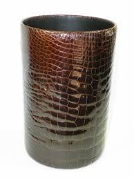 waste paper baskets alligator wastepaper basket