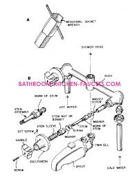 kitchen faucet components delta kitchen faucet parts diagram delta kitchen faucet parts