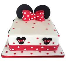 Red Minnie Mouse Cake Decorations Minnie Mouse Cakes Archives Best Custom Birthday Cakes In Nyc