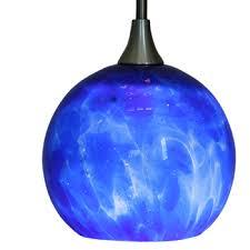 Blue Light Fixture Gorgeous Design Blue Light Fixtures Interesting Decoration Blown