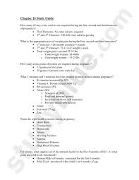 nutrition through life cycle study guide pregnancy hnfe 2014