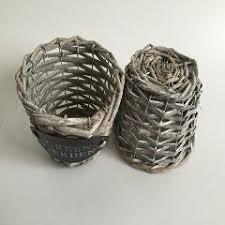 10pcs lot wholesale rattan succulent planters rattan basket for