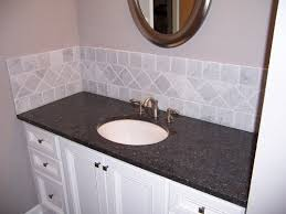 easy bathroom backsplash ideas vanity and backsplash project showcase diy chatroom home easy