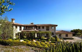 Mediterranean House Styles - luxurious tuscan style malibu villa by paul brant williger architect