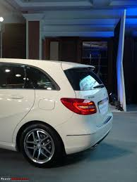 mercedes b class launched 21 49 lakhs official report team bhp
