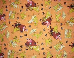 lion king wrapping paper lion king pillowcase etsy
