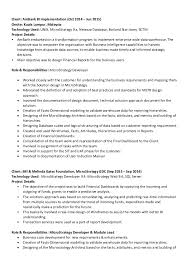 business intelligence resume best resumes