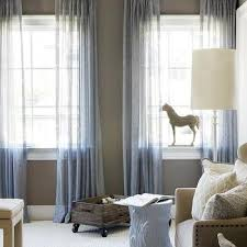 Gray Blue Curtains Designs Blue Sheer Curtains Design Ideas