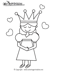 princess coloring page printable coloring pages for girls