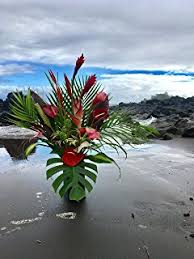 tropical flower arrangements large hawaiian tropical flower arrangement