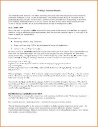 6 resume technical skills leave latter