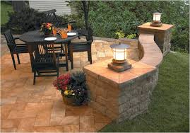 Patio Post Lights Central Pre Mix Retaining Wall Blocks