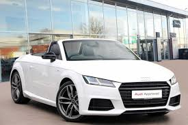 used audi tt convertible for sale motors co uk