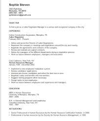 Construction Company Resume General Resume Template Dazzling Ideas General Resume Objective 9