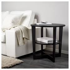 What Is Ikea Furniture Made Out Of Vejmon Side Table Black Brown Ikea