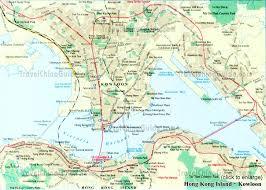 hong kong map and hong kong satellite images