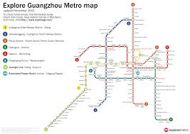 Shenzhen Metro Map by Guangzhou Map 2010 2011 Printable Metro Subway U0026 Tourist