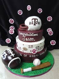 sports theme graduation cake graduation cakes pinterest cake