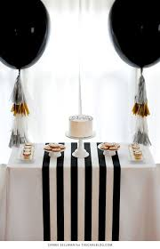 black tie party favors be bold black gold graduation party on kara s party ideas
