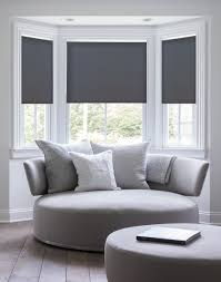 serena daybreak style roller shades shown in gray make this white