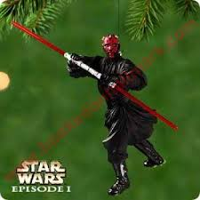 2000 darth maul wars episode i hallmark ornament at hooked on