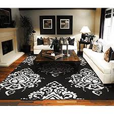 Cheap Modern Rug Luxutry Modern Rugs For Living Dining Room Black
