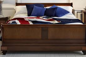 Cherry Wood Sleigh Bed Palais French Sleigh Bed In Walnut U0026 Cherry Wood And So To Bed