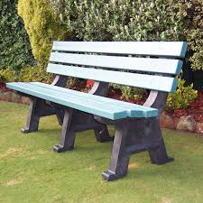 Kimberley Recycled Plastic Park Seat Draffin - Recycled outdoor furniture