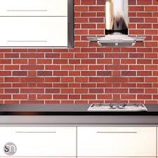 red brick peel u0026 stick realistic texture wallpaper graphicsmesh