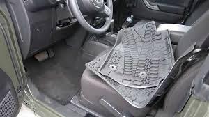 2007 jeep grand floor mats mopar 2015 jk jeep wrangler mopar rubber matts review and install