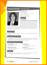 13 personal profile format for students address example