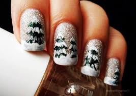 simple u0026 easy christmas tree nail art designs u0026 ideas 2013 2014