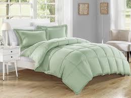 Black Down Alternative Comforter Amazon Com Kinglinen Down Alternative 3 Pcs Comforter Set Queen