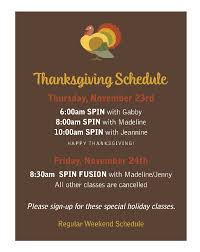 thanksgiving schedule beverly ride on beverly ride on